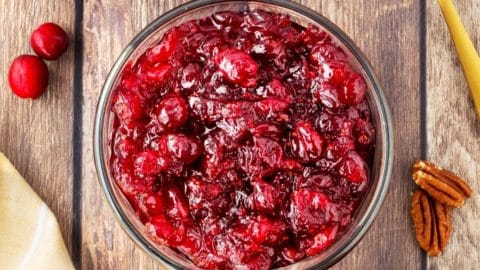 Basic Cranberry Sauce with Variations