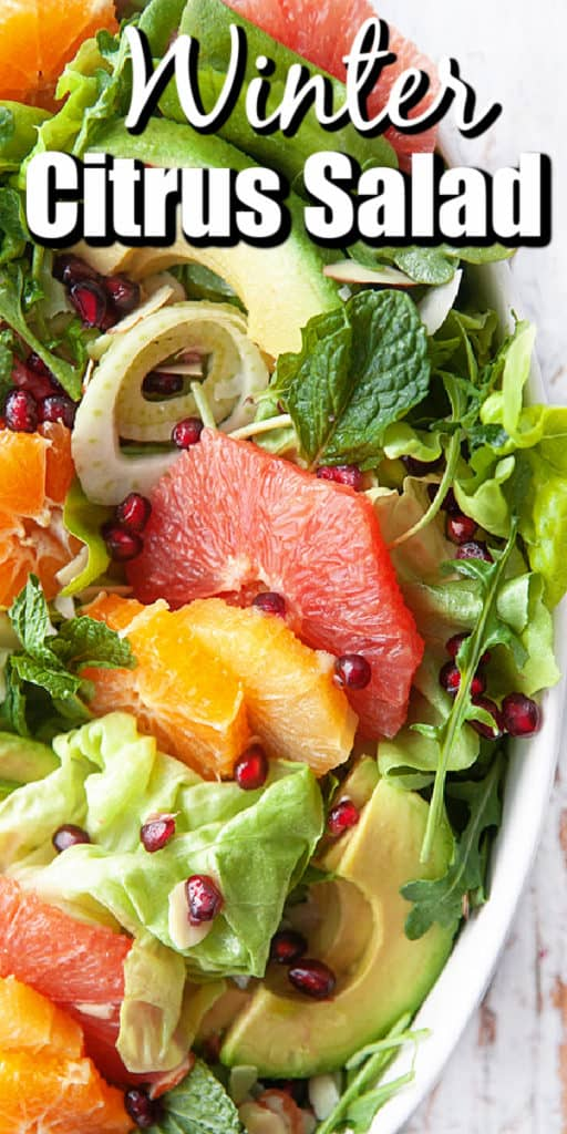 Winter Citrus Salad Pin