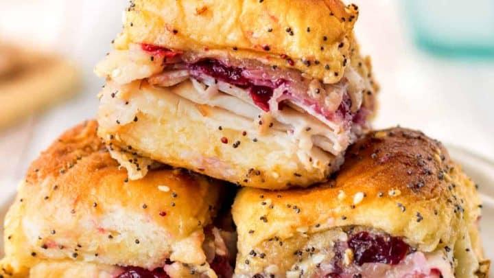 Havarti Cranberry Turkey Sliders