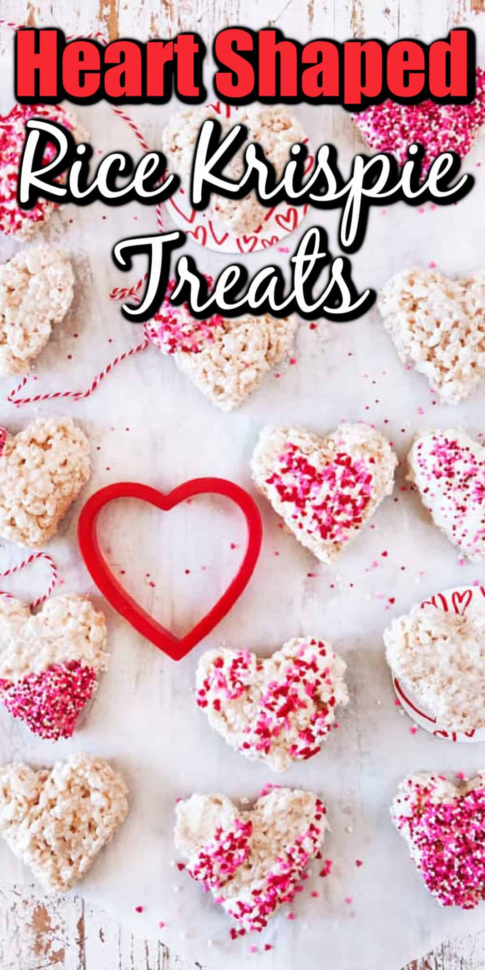 Heart Shaped Rice Krispie Treats Pin