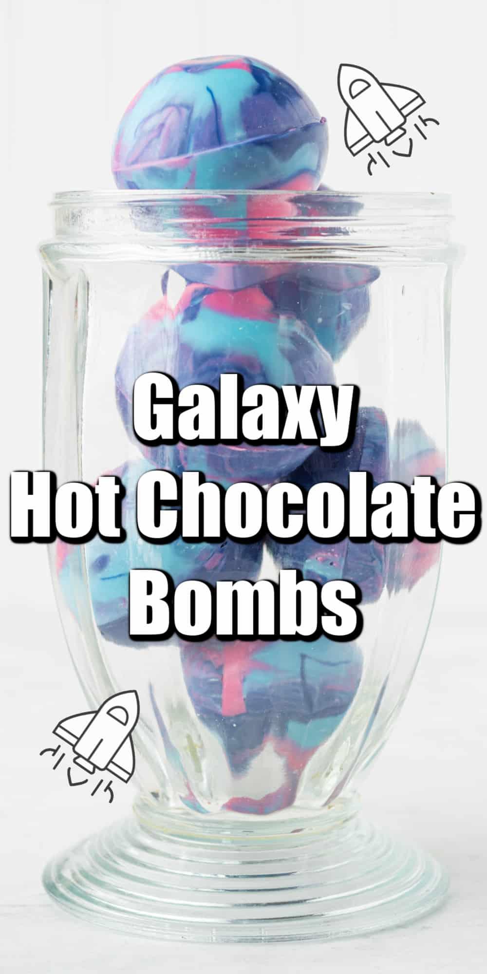 Galaxy Hot Chocolate Bombs Pin