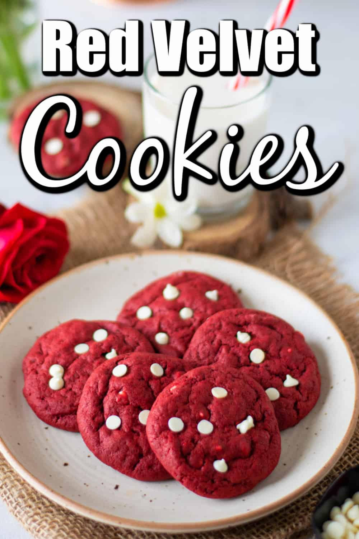 Red Velvet Cookies Pin