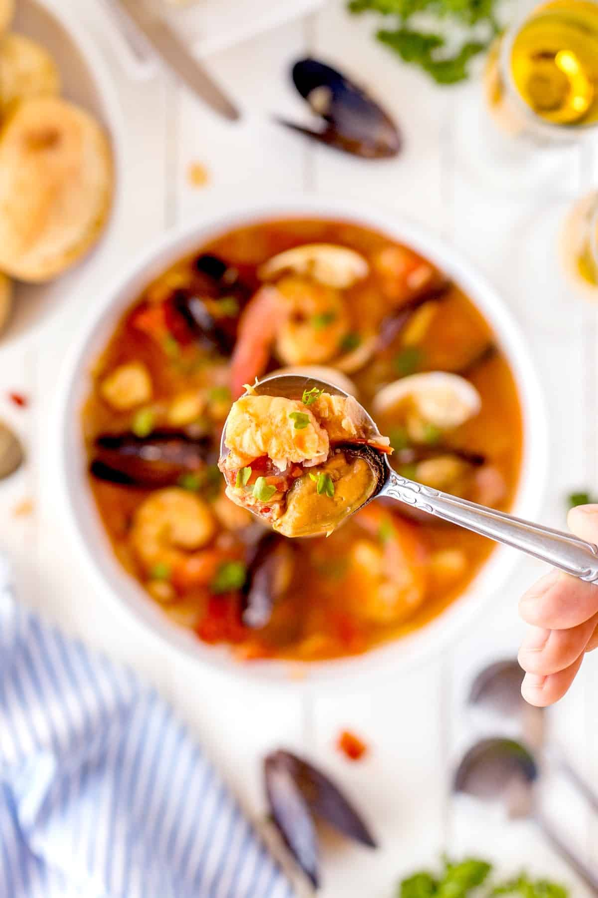 Spoonful of Cioppino