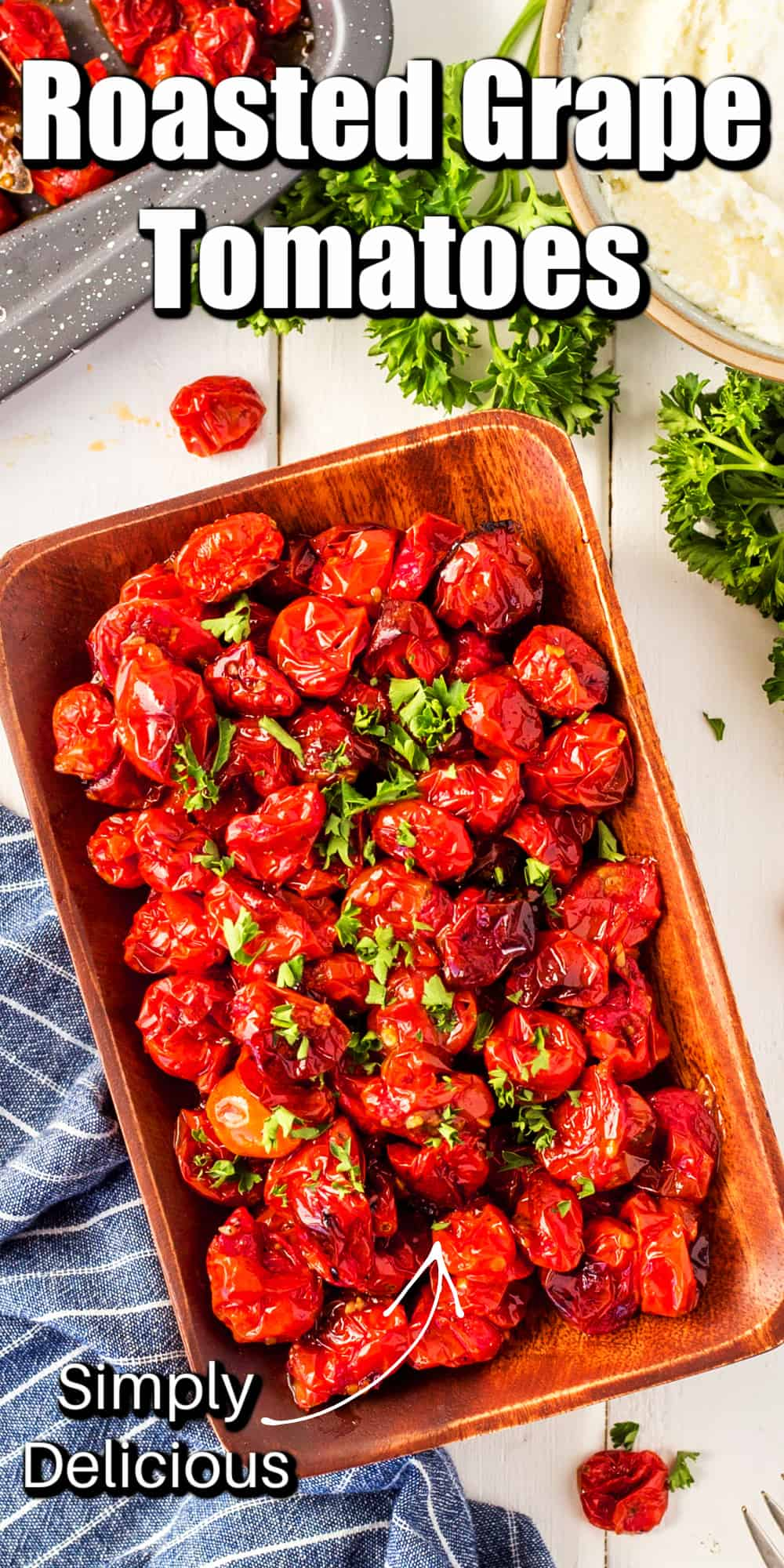Roasted Grape Tomatoes Pin