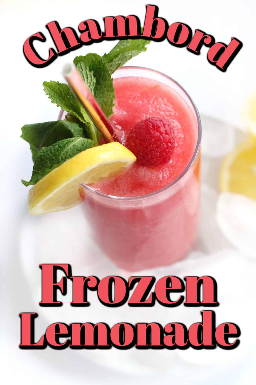 Chambord Frozen Lemonade Pin