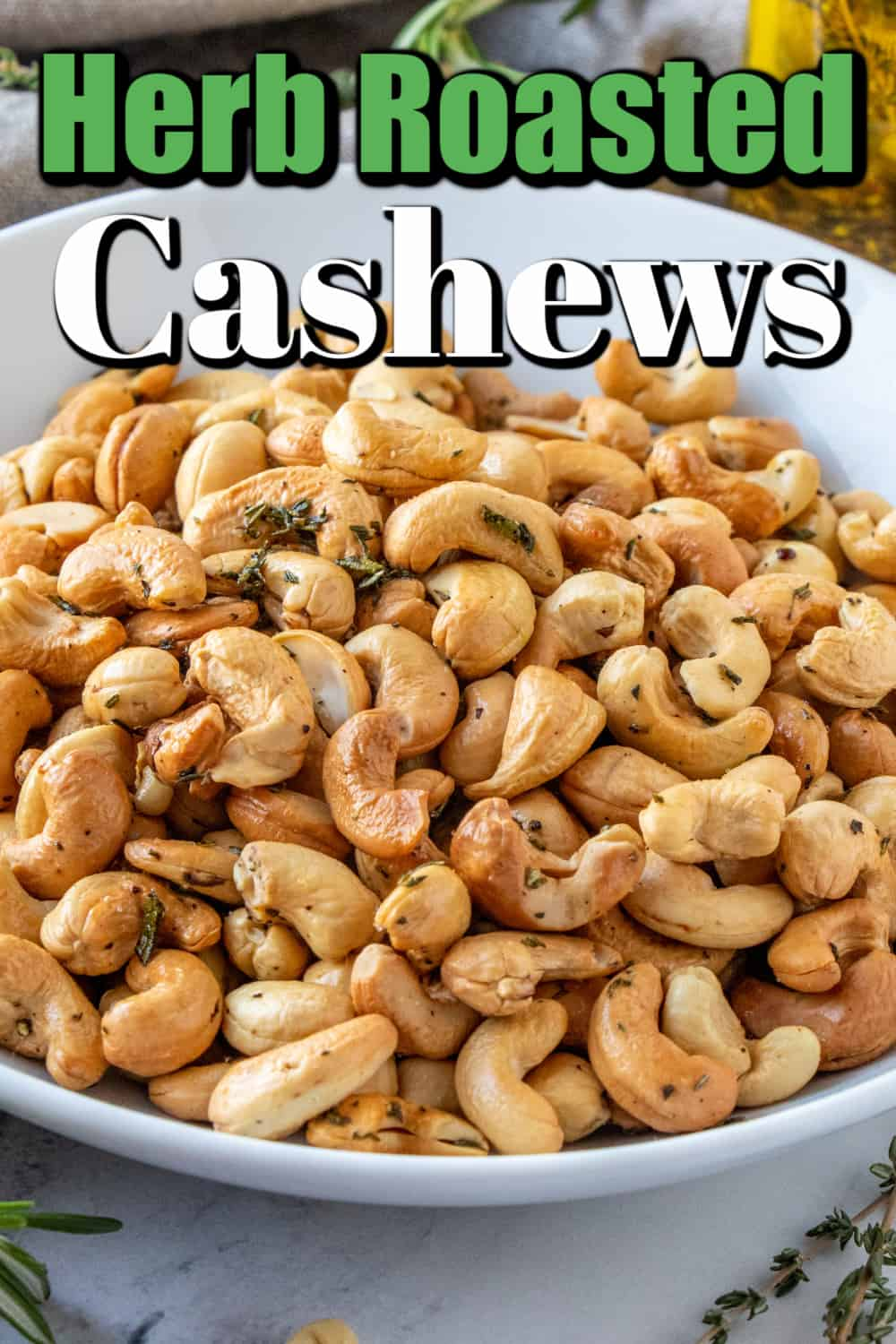 Herb Roasted Cashews Pin