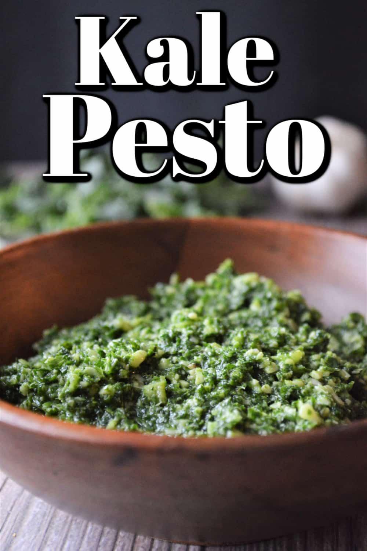 Deliciously Easy Kale Pesto Pin