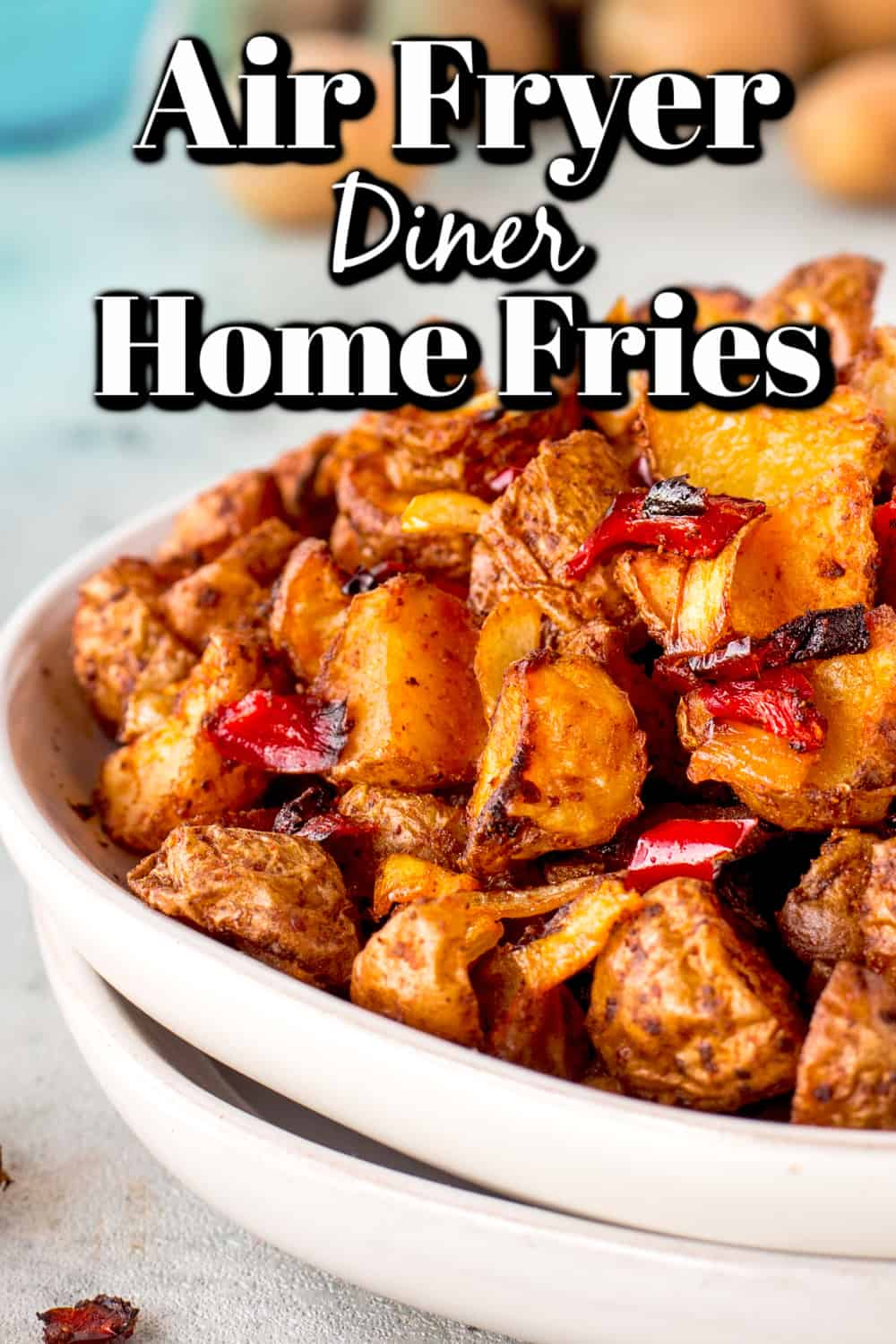 Air Fryer Diner Home Fries Pin