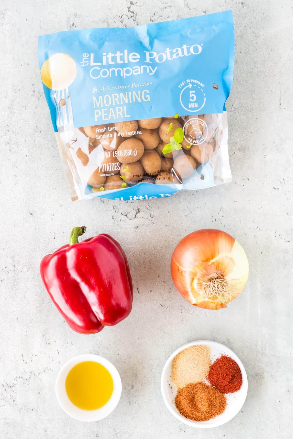 Ingredients for Air Fryer Diner Home Fries