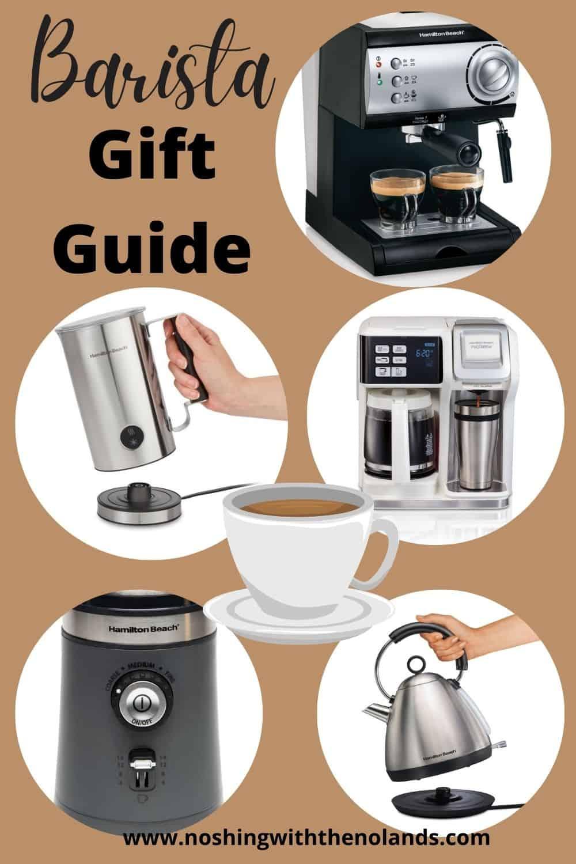 Barista Gift Guide Pin