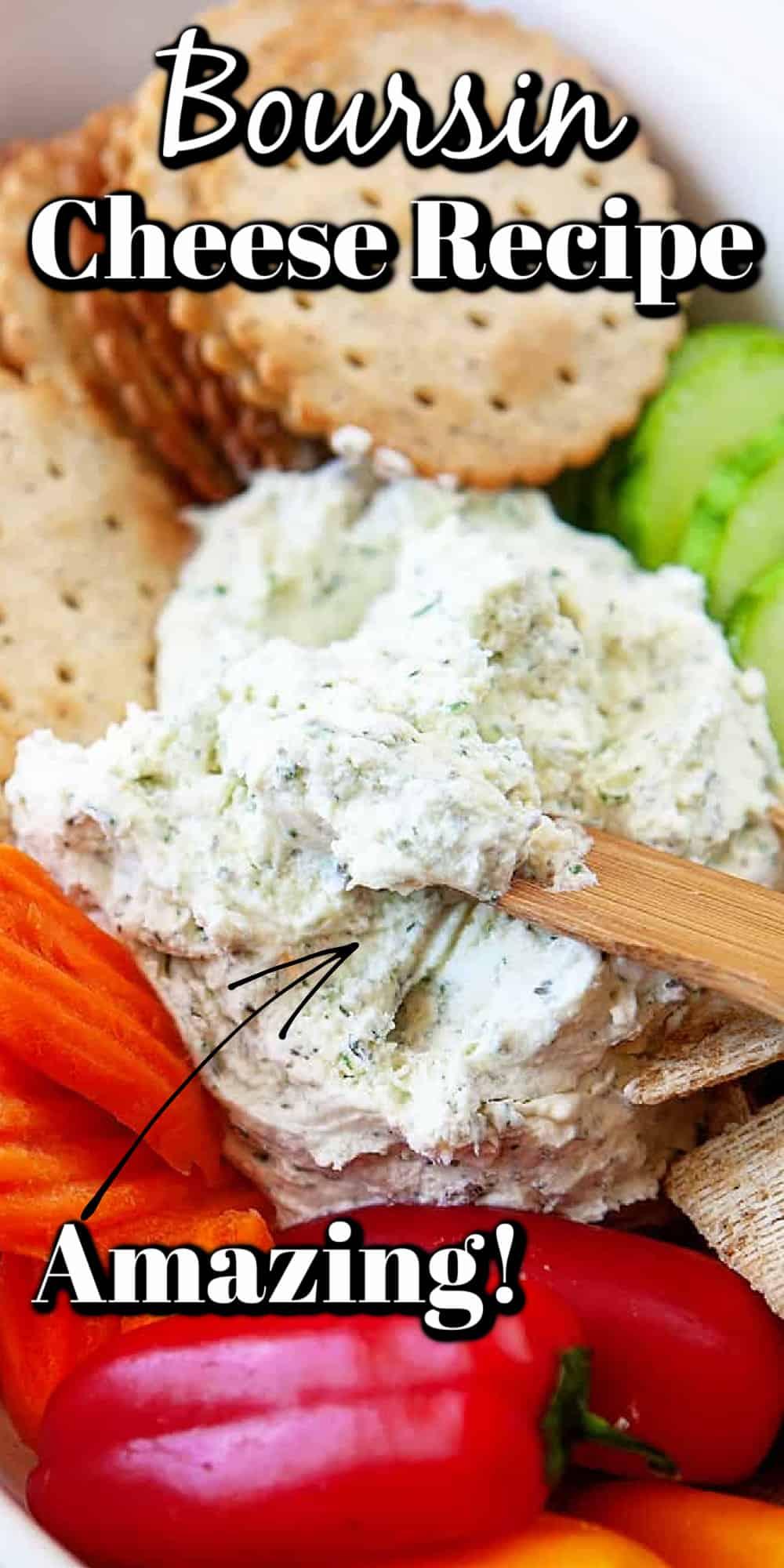 Homemade Boursin Cheese Recipe Pin