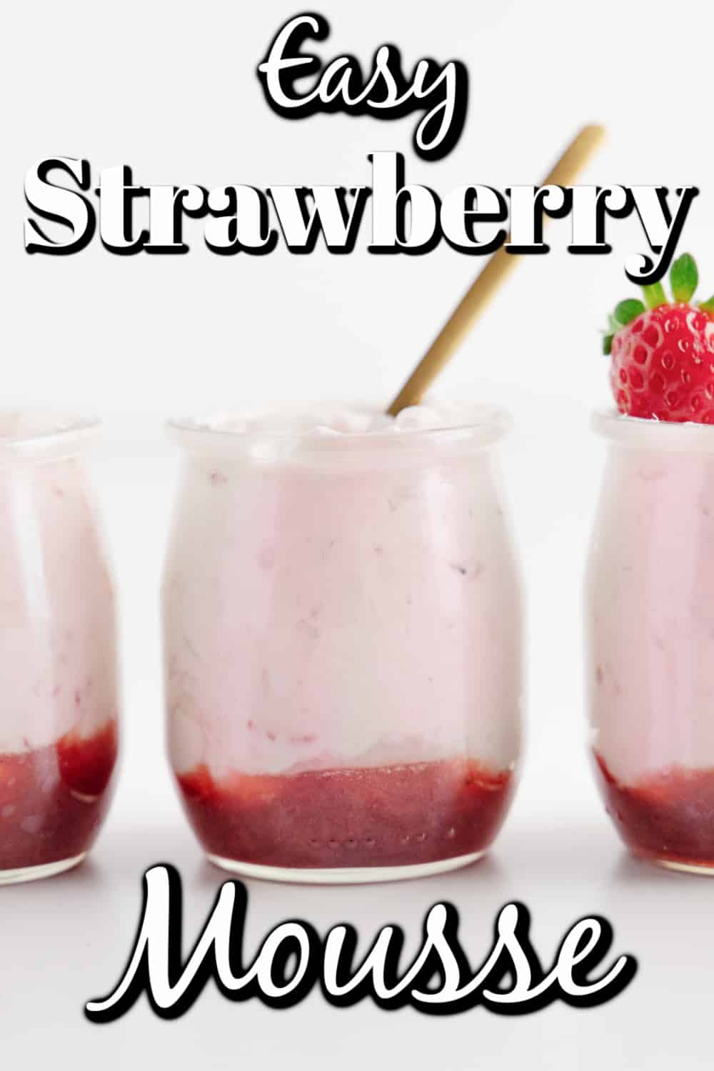Easy Strawberry Mousse Pin