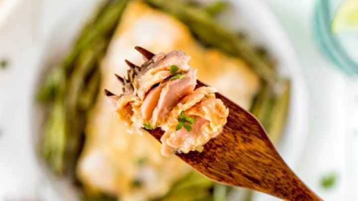 Maple Dijon Sheet Pan Salmon Dinner
