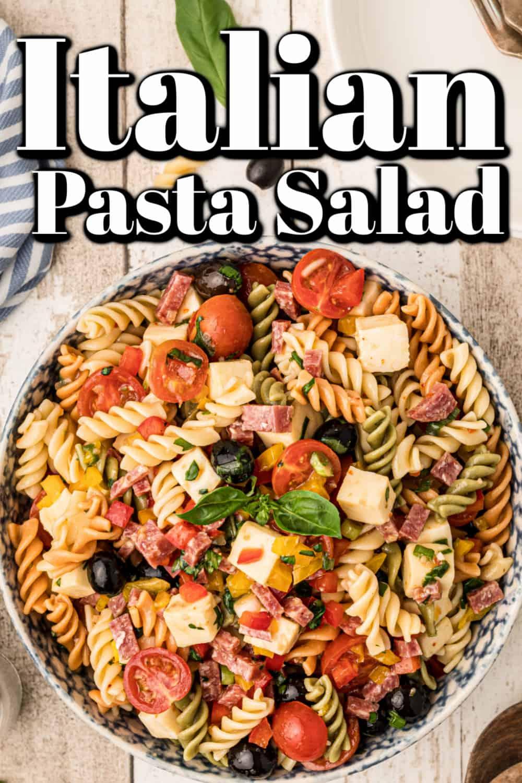 Best Italian Pasta Salad Pin