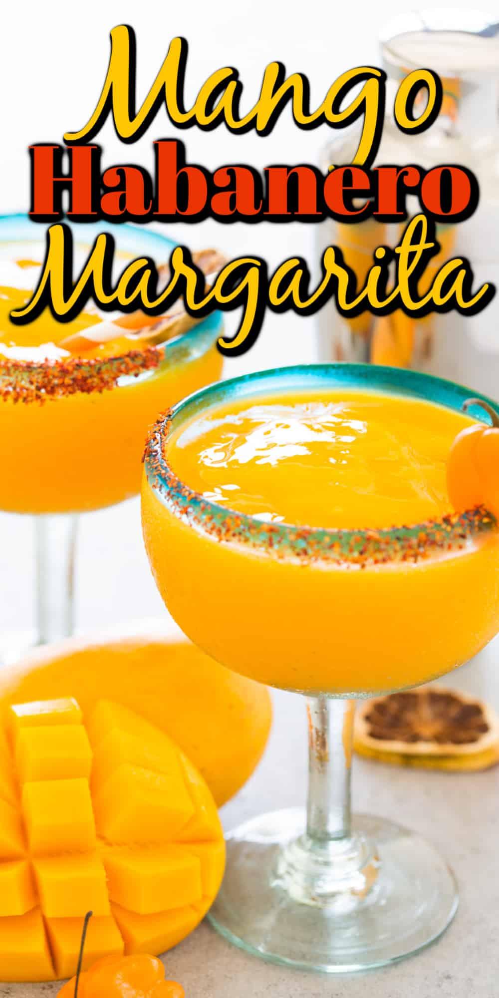 Mango Habanero Margarita Pin