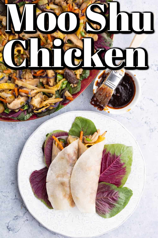 Delicious Moo Shu Chicken Pin