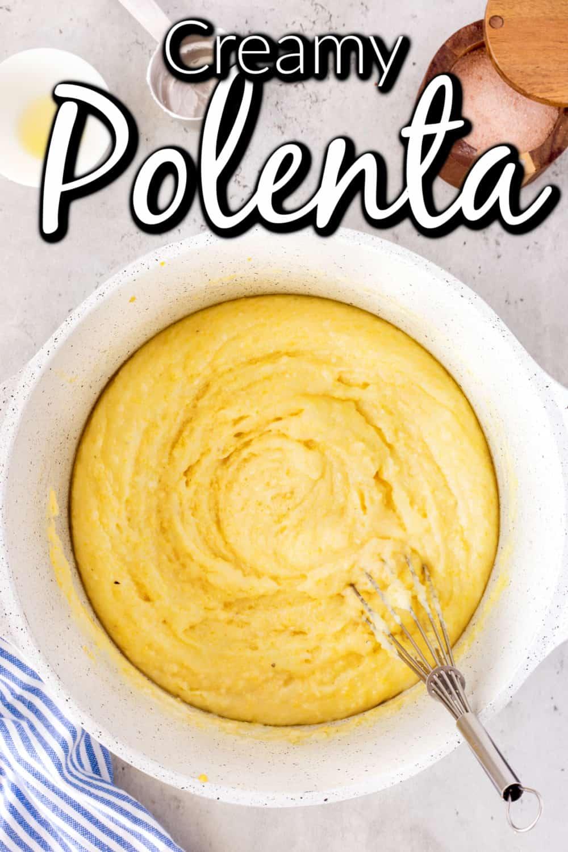 Wonderfully Creamy Polenta Pin