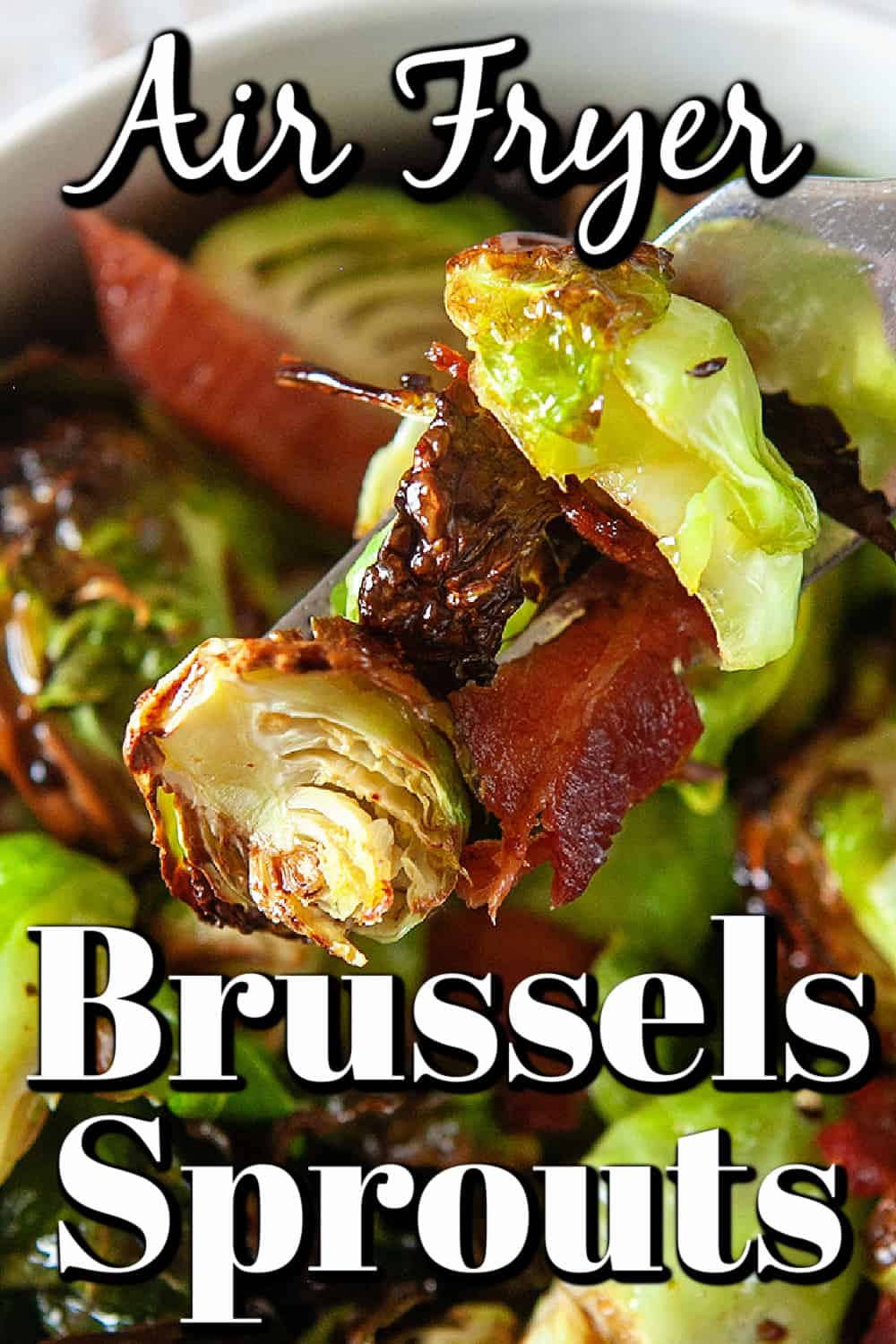 Air Fryer Brussels Sprouts Pin