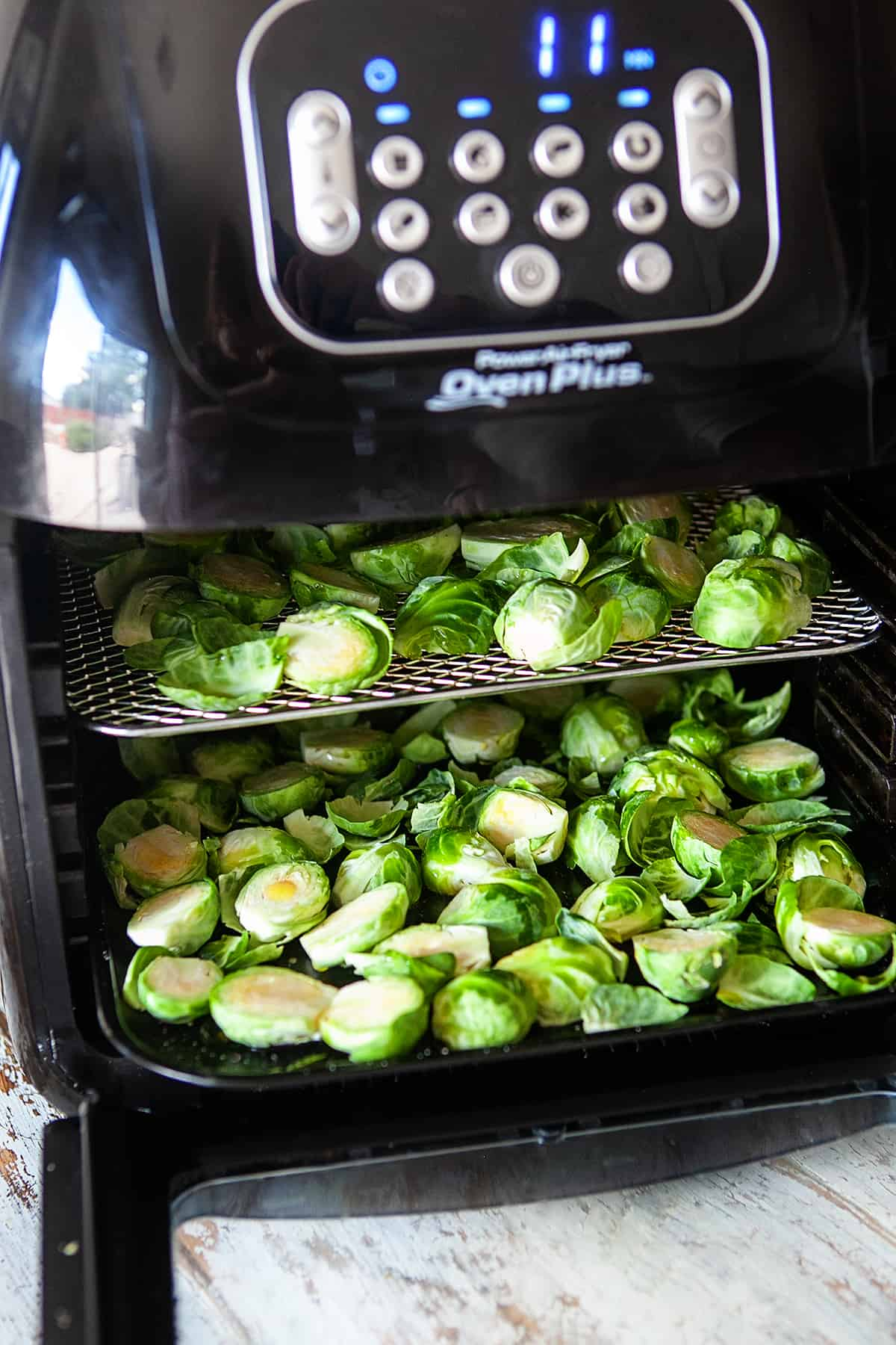 Cooking Brussels Sprouts in the Air Fryer