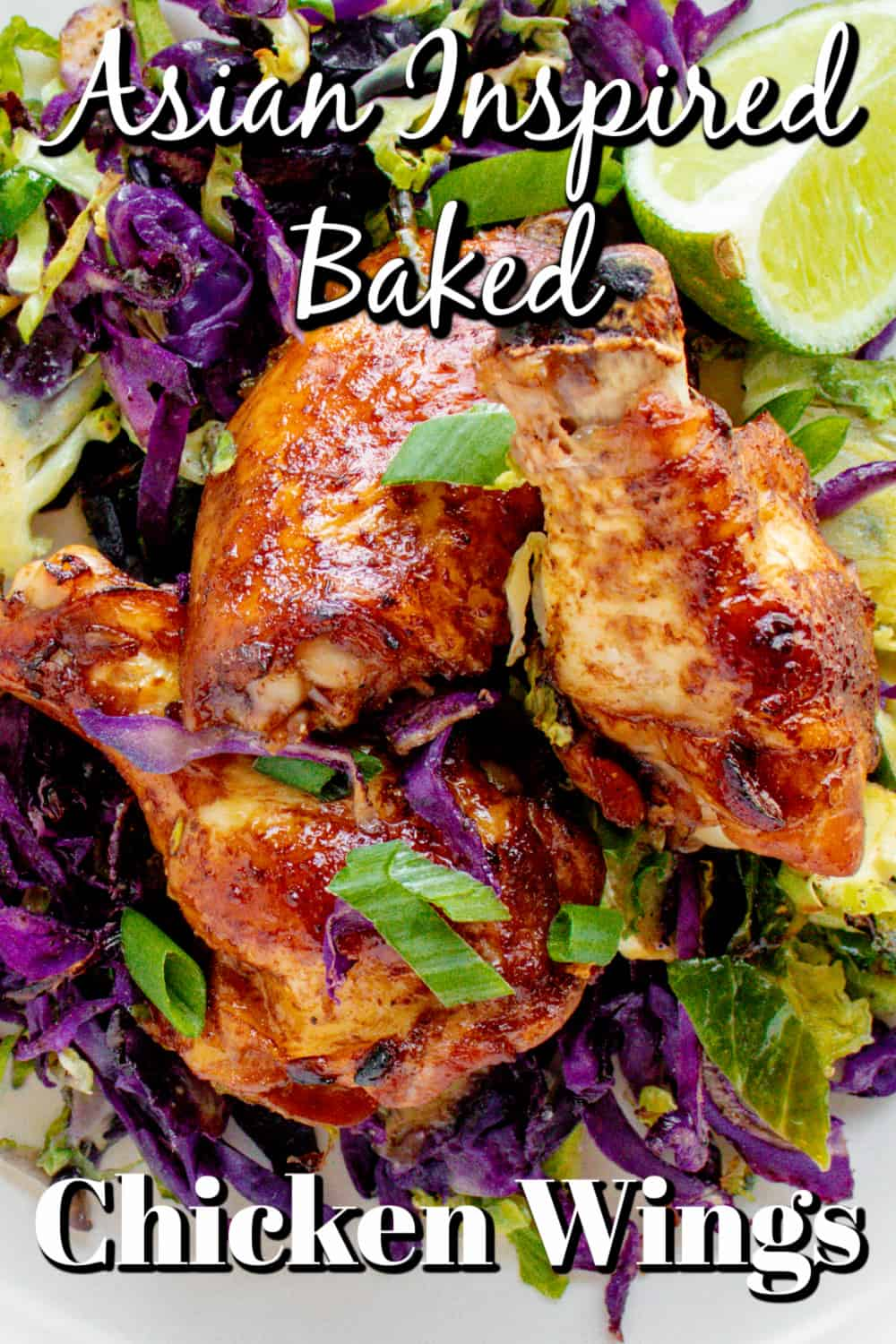 Asian Inspired Baked Chicken Wings Pin