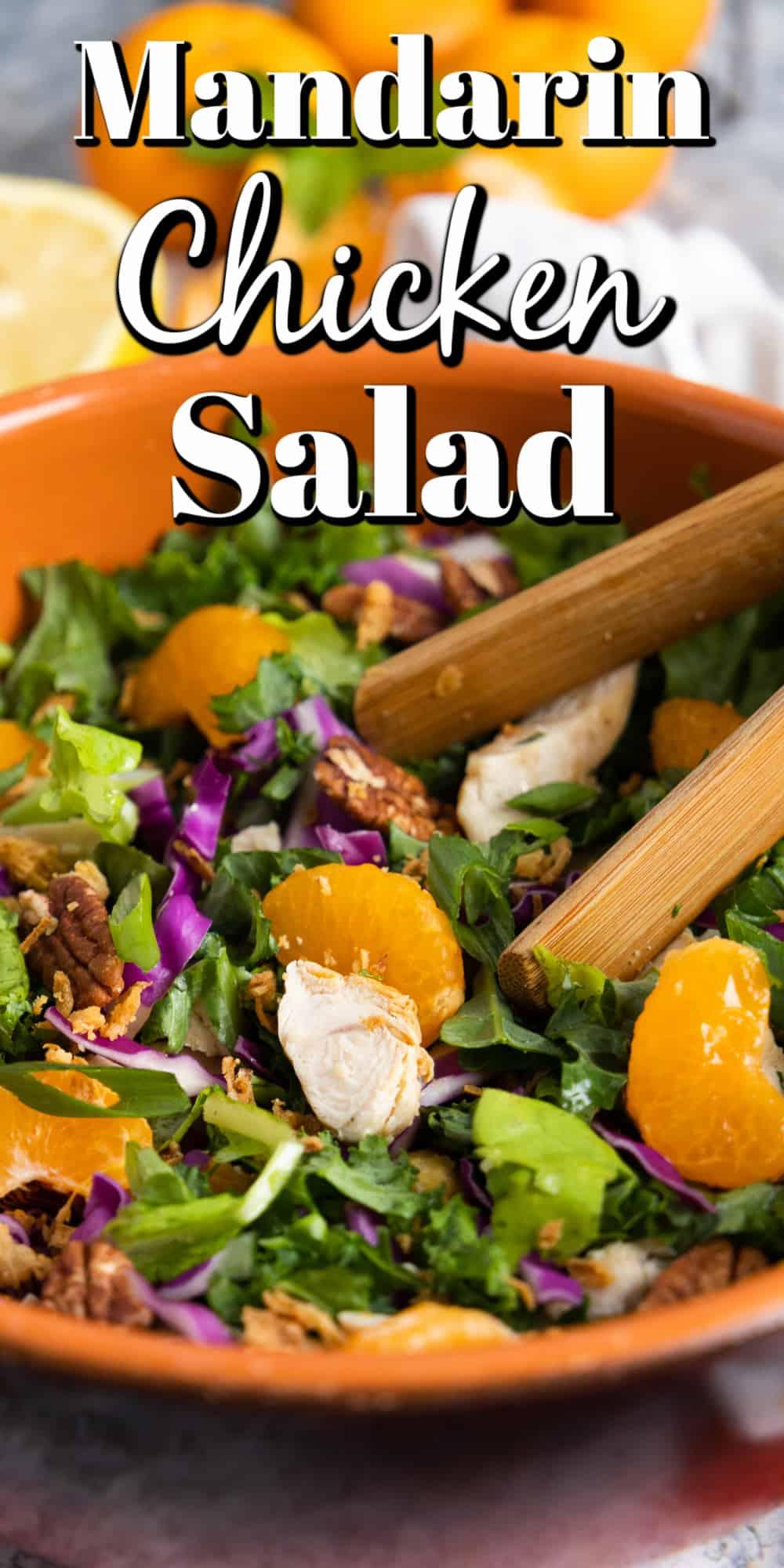 Mandarin Chicken Salad Pin