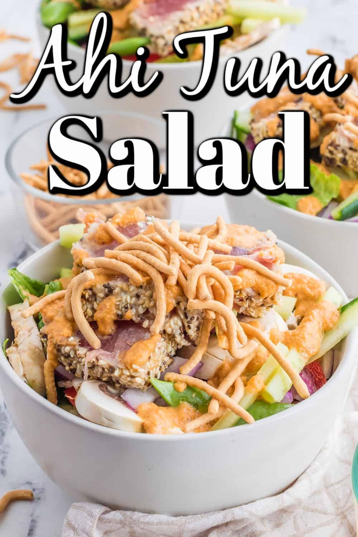 Ahi Tuna Salad Pin
