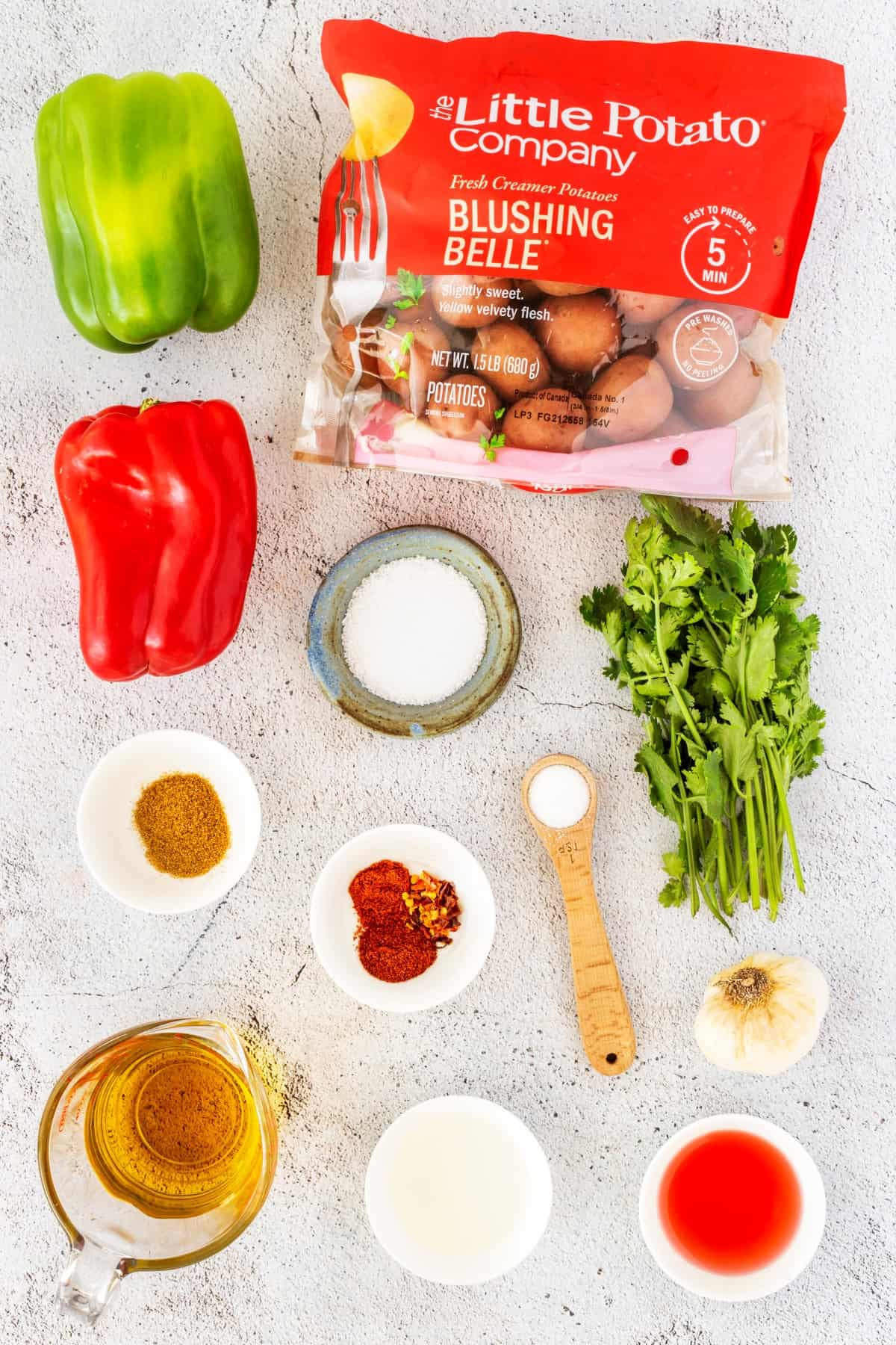 Ingredients for Canarian Potatoes