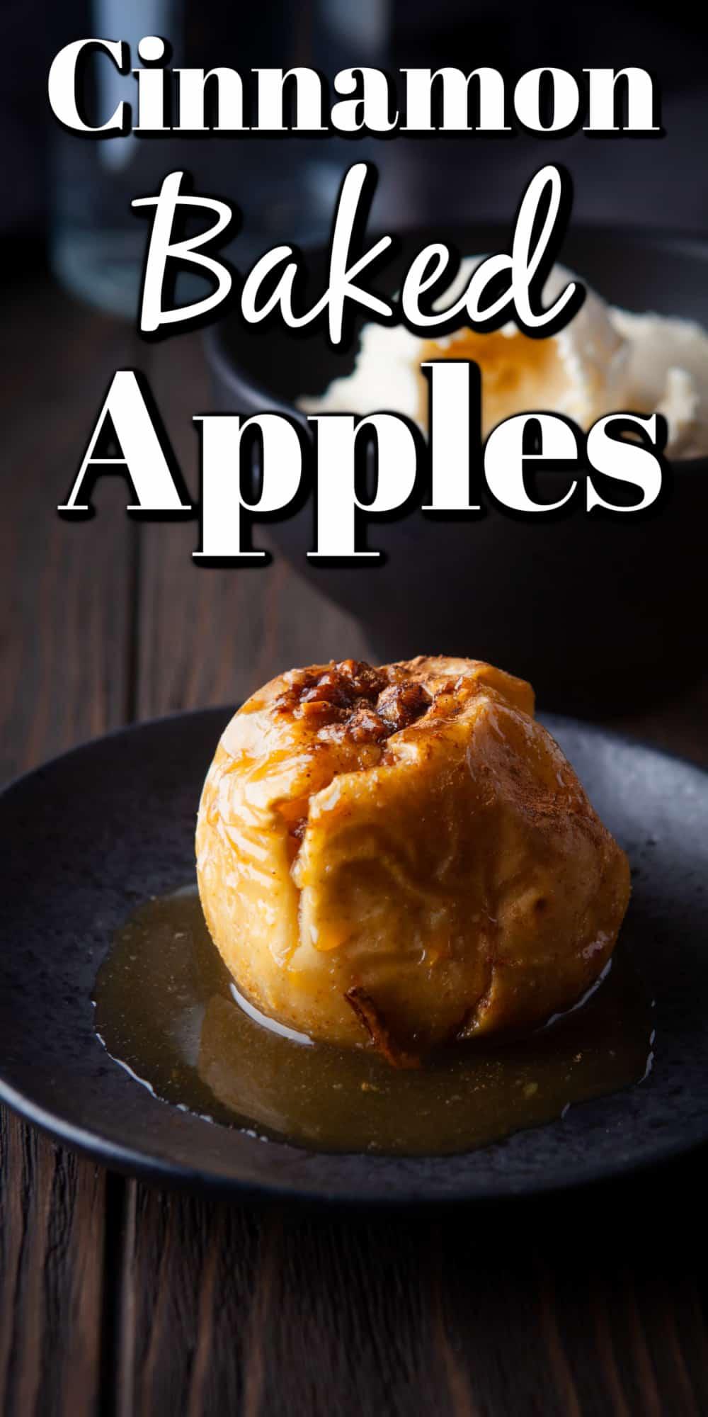 Cinnamon Baked Apples Pin
