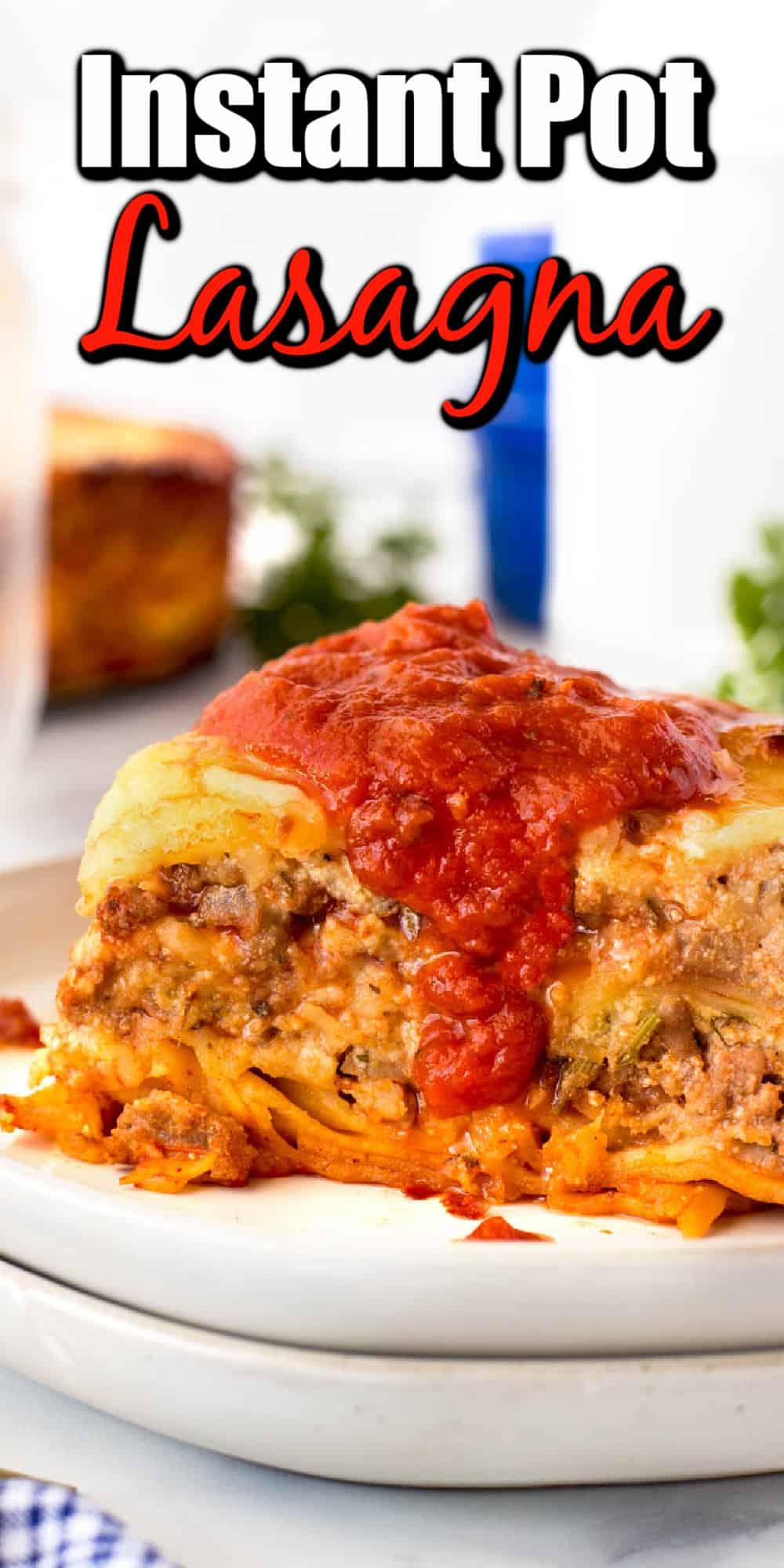 Instant Pot Lasagna Pin