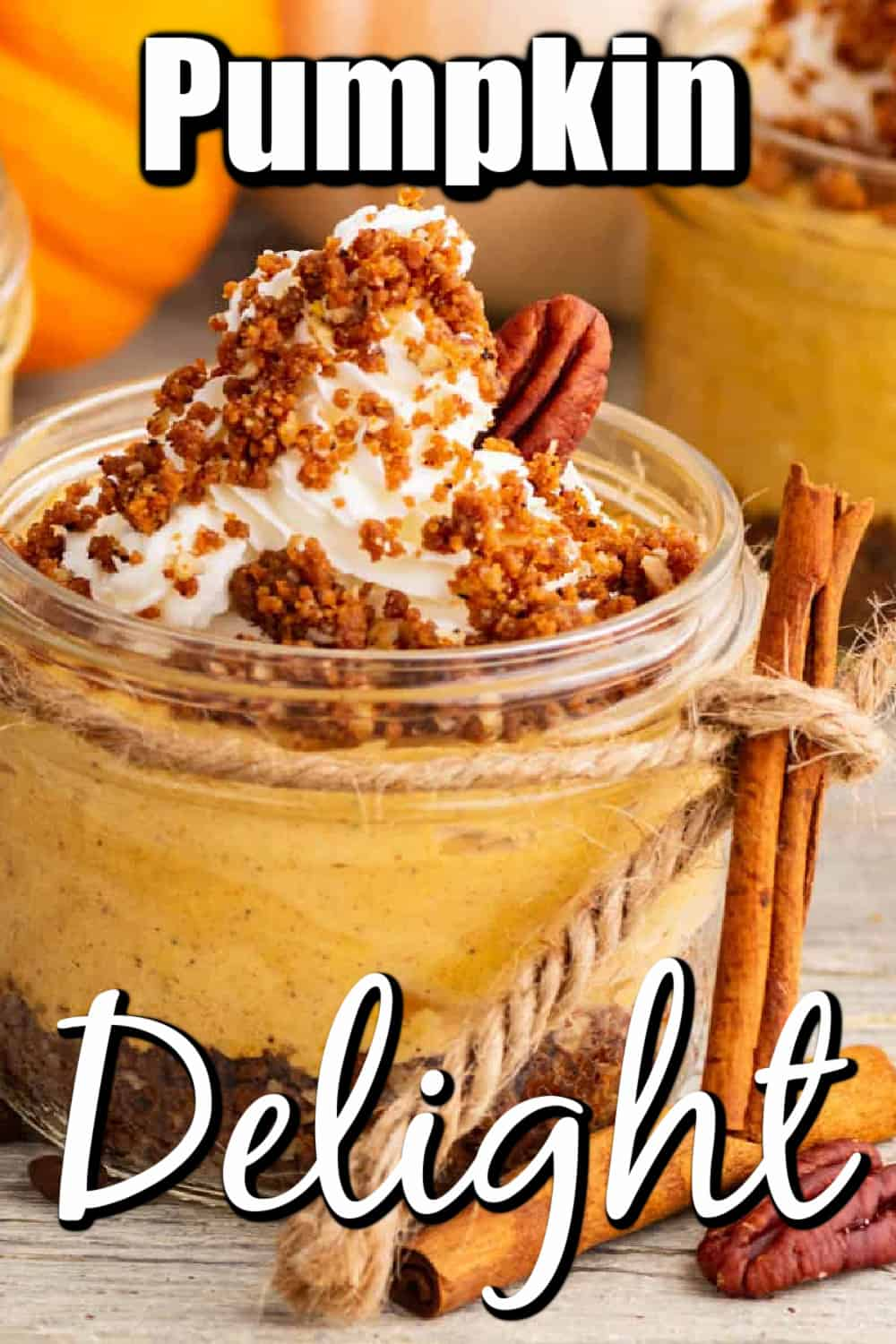 Pumpkin Delight with a Twist Pin