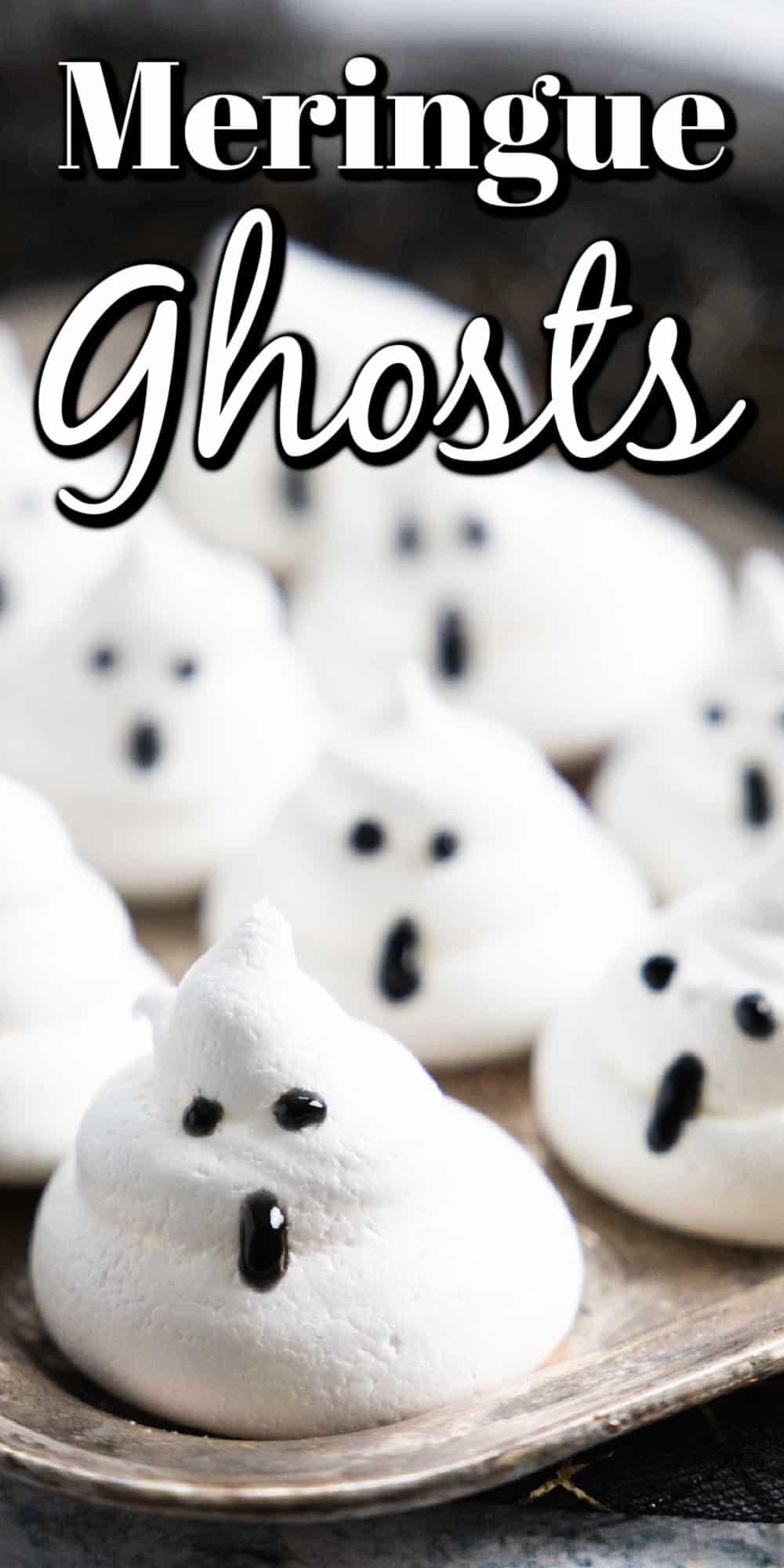 Meringue Ghosts Pin